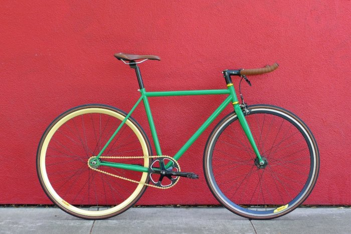 Bicicleta Fixie Camaleón
