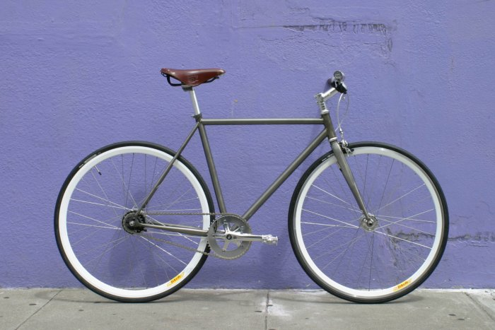 Bicicleta Fixie Back in Black