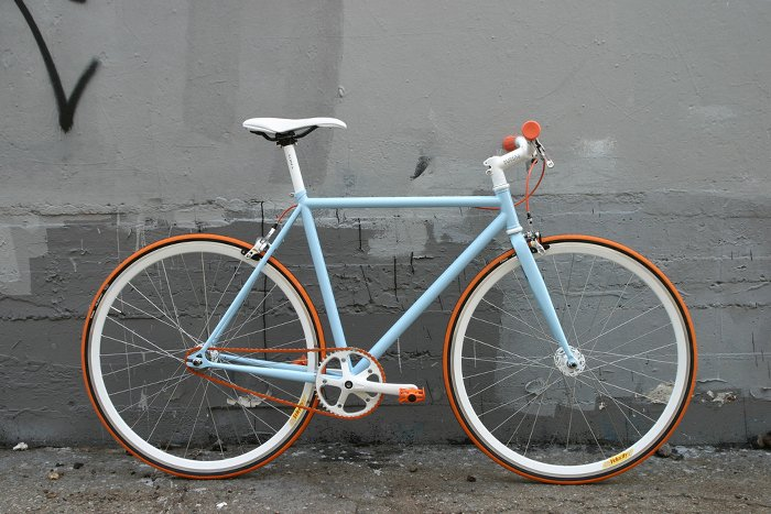 Bicicleta Fixie New Holland