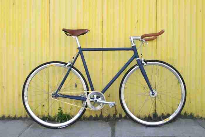 Bicicleta Fixie Cobalto