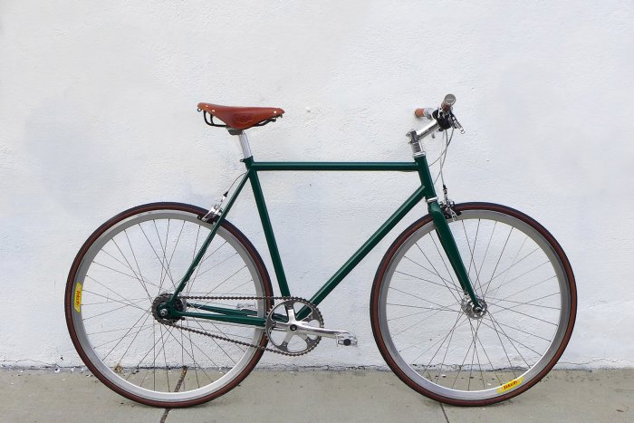 Bicicleta Fixie British Racing Green